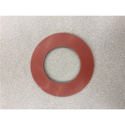 "GASKET 3 150# RED RUBBER 1/8"" THICK"