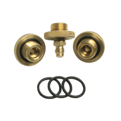 "QUICK CONNECT FITTINGS 1/2"" (SET OF 3)"