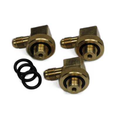 "SWIVEL FITTINGS 90 DEG 1/4"" (SET OF 3)"