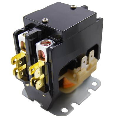 CONTACTOR 2-POLE 30AMP 24V