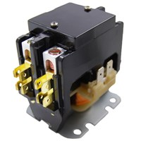 CONTACTOR 2-POLE 40AMP 24V